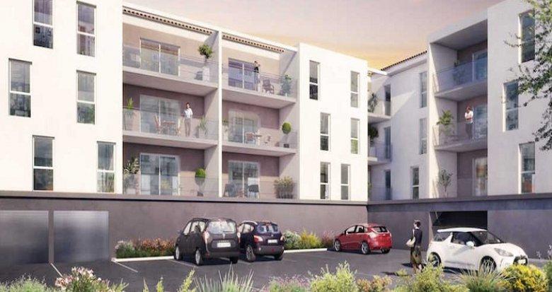 Achat / Vente appartement neuf Istres 300 mètres centre historique (13800) - Réf. 1043