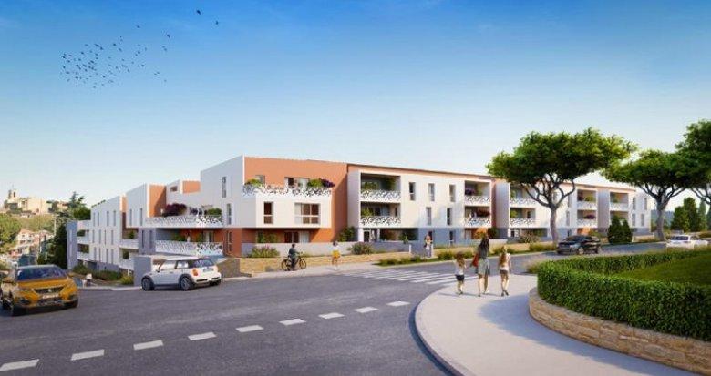 Achat / Vente appartement neuf Istres à 200m du centre ville (13800) - Réf. 6007