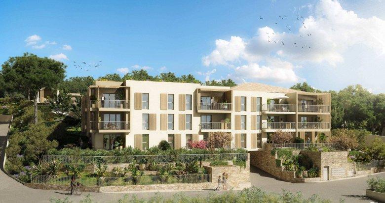 Achat / Vente appartement neuf La Ciotat au coeur d'un cadre naturel préservé (13600) - Réf. 6177
