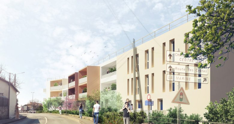 Achat / Vente appartement neuf La Ciotat proche centre-ville (13600) - Réf. 848