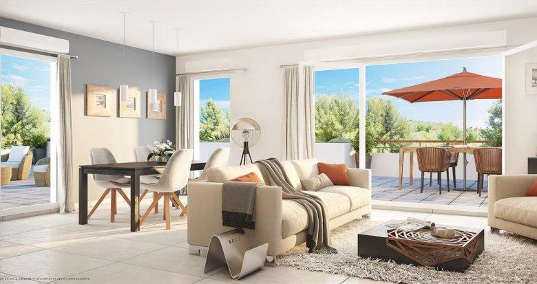 Achat / Vente appartement neuf La Ciotat quartier de Pareyraou (13600) - Réf. 550
