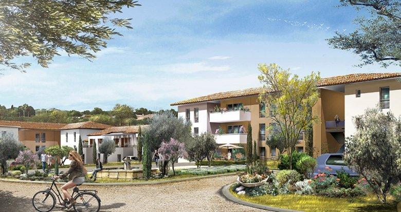 Achat / Vente appartement neuf La Fare les Oliviers proche zone d'activités (13580) - Réf. 638