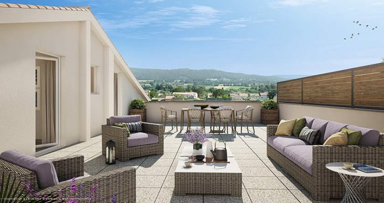 Achat / Vente appartement neuf La Fare-les-Oliviers quartier Les Ferrages (13580) - Réf. 750