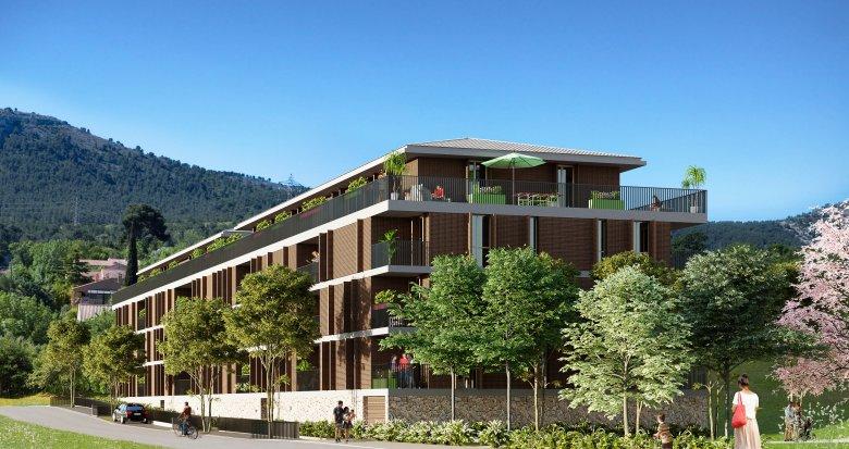 Achat / Vente appartement neuf La Penne-sur-Huveaune entre village et pinède (13821) - Réf. 1018
