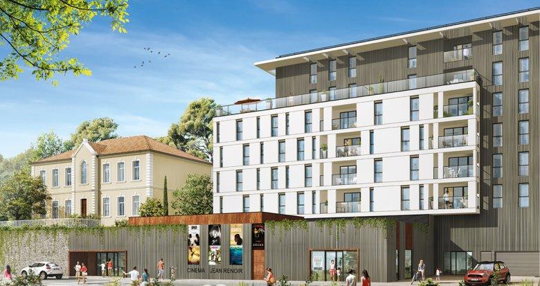 Achat / Vente appartement neuf La Penne-sur-Huveaune proche des commerces (13821) - Réf. 1011