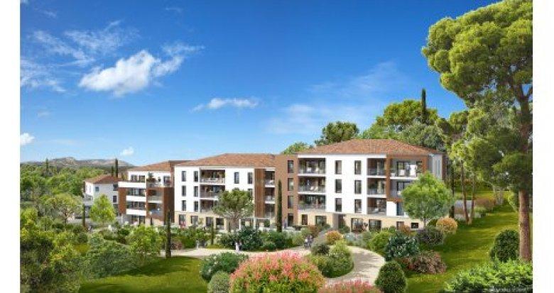 Achat / Vente appartement neuf La Penne sur Huveaune proche des établissements scolaires (13821) - Réf. 1514