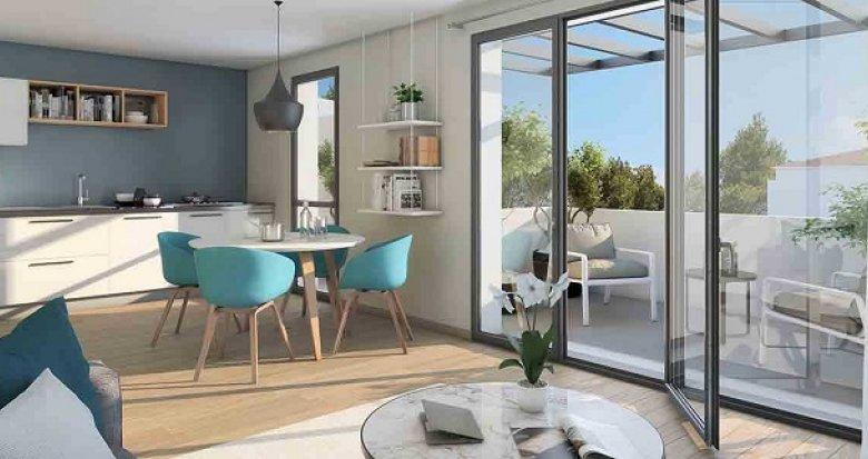 Achat / Vente appartement neuf Marignane TVA réduite environnement pavillonnaire (13700) - Réf. 2421