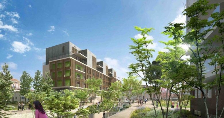 Achat / Vente appartement neuf Marseille 01 proche parc Longchamp (13001) - Réf. 641