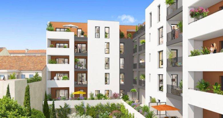 Achat / Vente appartement neuf Marseille 05 proche mairie (13005) - Réf. 4042