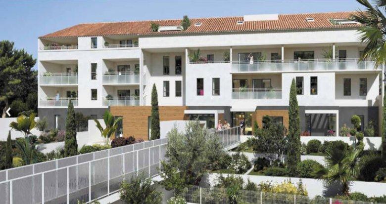 Achat / Vente appartement neuf Marseille 08 à 300 mètres des plages (13008) - Réf. 2866