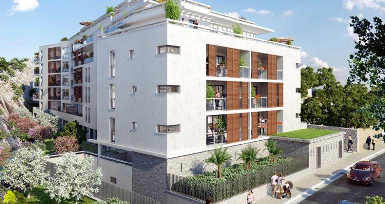 Achat / Vente appartement neuf Marseille 08 proche parc Borély (13008) - Réf. 775