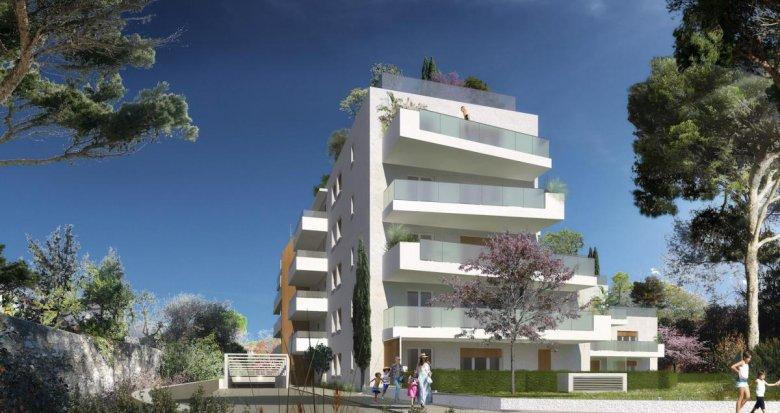 Achat / Vente appartement neuf Marseille 09 au calme Mazargues Bonneveine (13009) - Réf. 2750