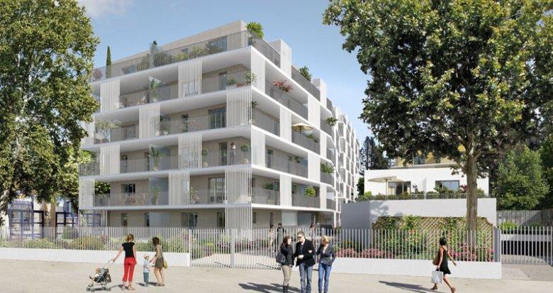 Achat / Vente appartement neuf Marseille 10 proche du centre commercial Bleu Capelette (13010) - Réf. 1376