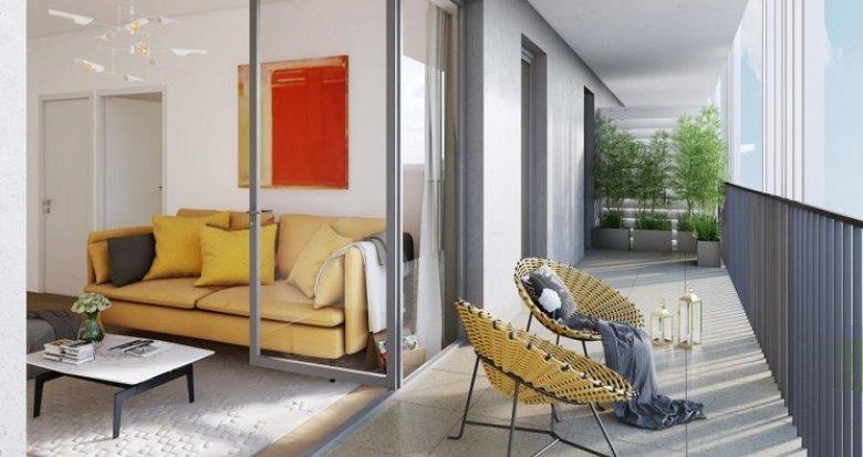 Achat / Vente appartement neuf Marseille 10 proche hippodrome Vivaux (13010) - Réf. 1182