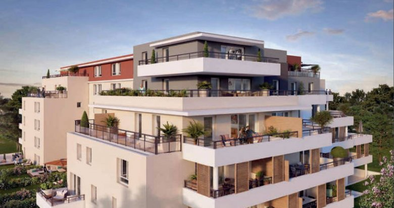 Achat / Vente appartement neuf Marseille 10 proche parc boisé (13010) - Réf. 5047