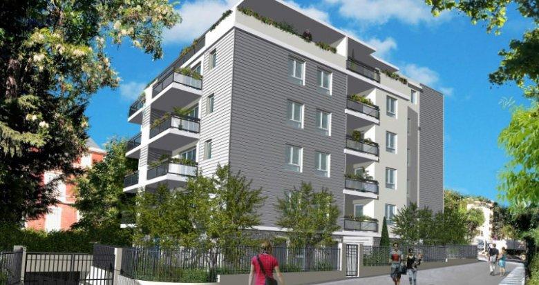 Achat / Vente appartement neuf Marseille 10 proche parc de la mairie (13010) - Réf. 649