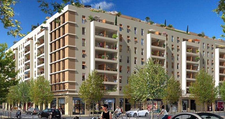 Achat / Vente appartement neuf Marseille 10 quartier de la Capelette (13010) - Réf. 1199
