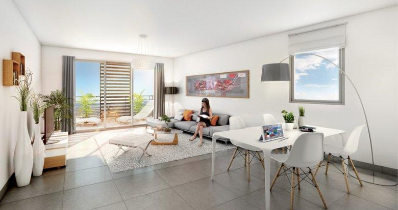 Achat / Vente appartement neuf Marseille 10 quartier Saint Loup (13010) - Réf. 316