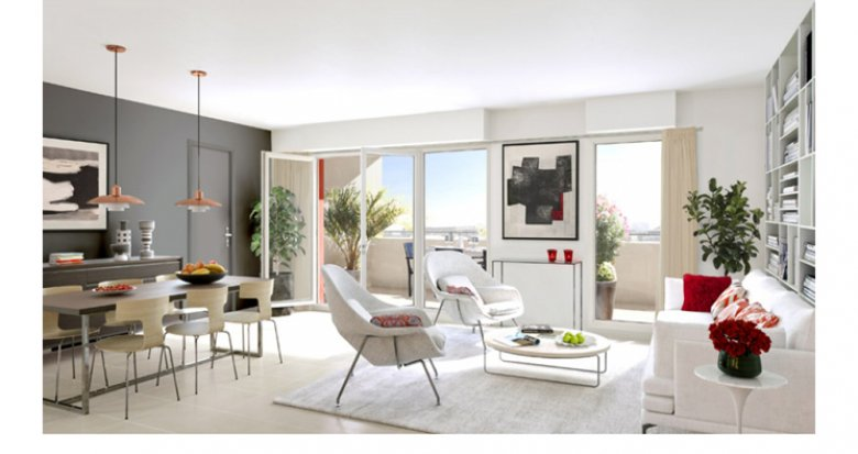 Achat / Vente appartement neuf Marseille 10 Timone - Architecture contemporaine (13010) - Réf. 2915