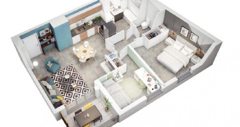 Achat / Vente appartement neuf Marseille 10 Timone-St Pierre - Accès rapide hyper centre (13010) - Réf. 2629