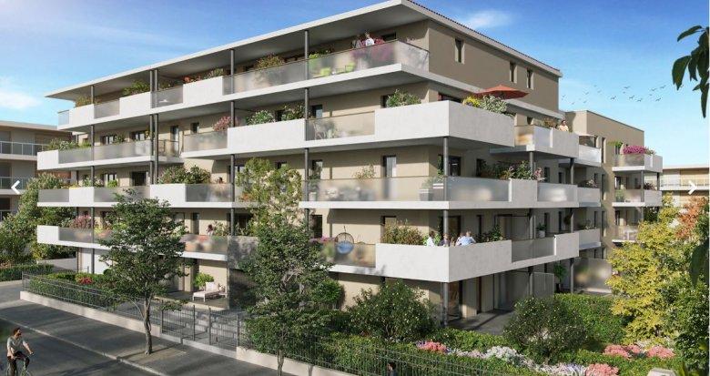 Achat / Vente appartement neuf Marseille 12 au cœur du village de St Barnabé (13012) - Réf. 5004