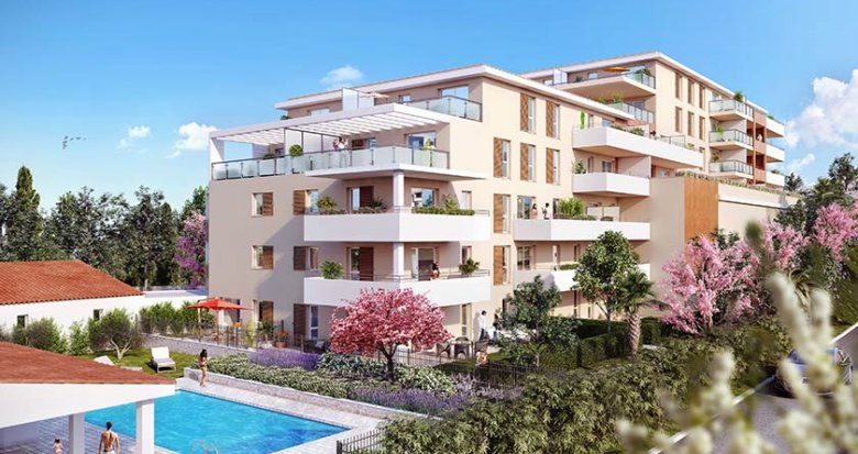 Achat / Vente appartement neuf Marseille 12 proche Beaumont (13012) - Réf. 1716