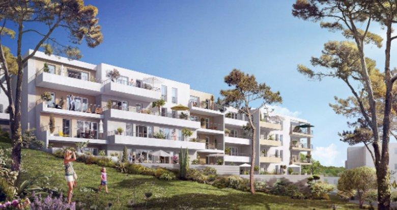 Achat / Vente appartement neuf Marseille 12 proche vieux village de Saint-Julien (13012) - Réf. 2603