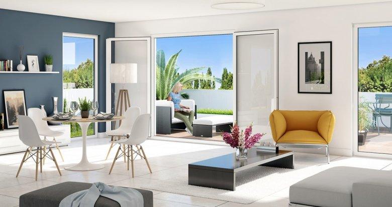 Achat / Vente appartement neuf Marseille 12 Résidentiel Mazaudier (13012) - Réf. 2642