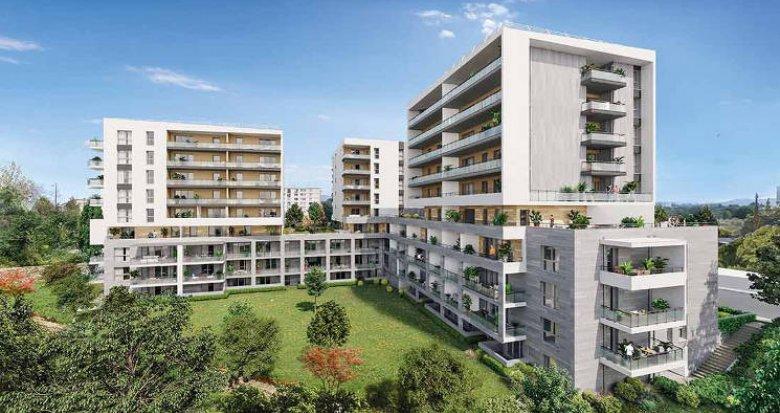 Achat / Vente appartement neuf Marseille 12 sur les hauteurs de Beaumont (13012) - Réf. 5548
