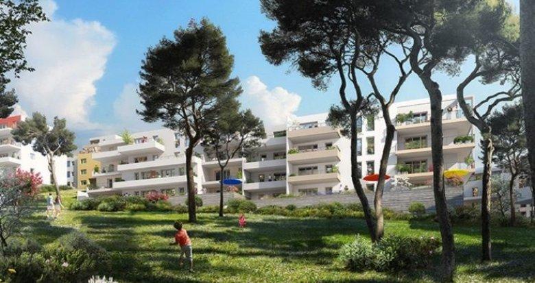 Achat / Vente appartement neuf Marseille 12ème site boisé (13012) - Réf. 814