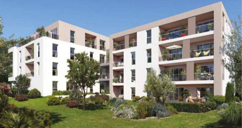 Achat / Vente appartement neuf Marseille 13 petite copropriété proche du métro (13013) - Réf. 4939