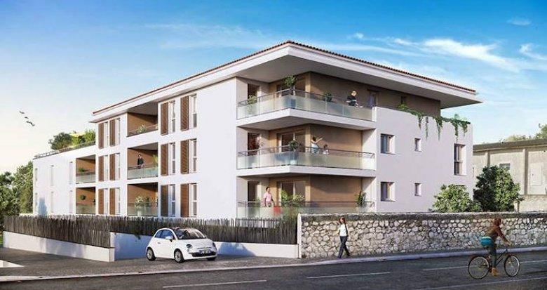 Achat / Vente appartement neuf Marseille 13 secteur village Château Gombert (13013) - Réf. 4462