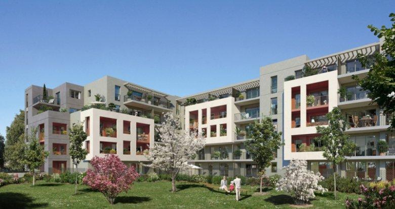 Achat / Vente appartement neuf Marseille 13e quartier Saint Just (13013) - Réf. 1409