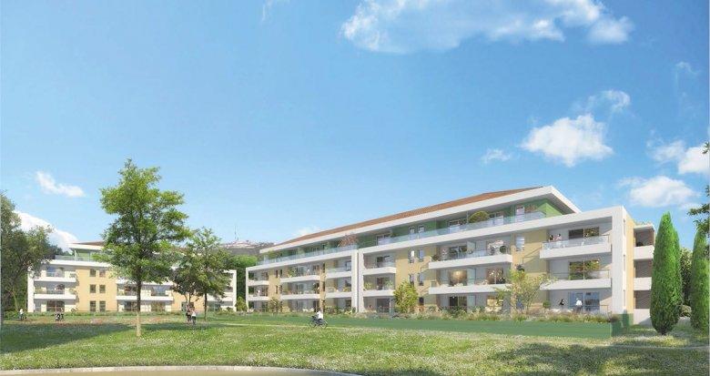 Achat / Vente appartement neuf Marseille 13ème au cœur de Château-Gombert (13013) - Réf. 232