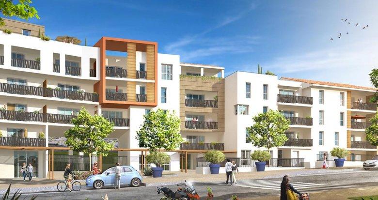 Achat / Vente appartement neuf Marseille 14 Parc et pinède (13014) - Réf. 967