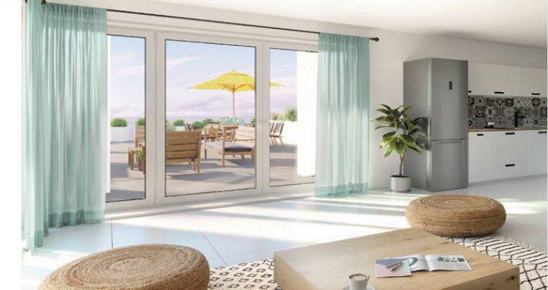 Achat / Vente appartement neuf Marseille 15 en plein cœur d'Euromediterranée 2 (13015) - Réf. 4602