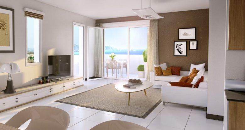 Achat / Vente appartement neuf Marseille 15e proche Euroméditerranée (13015) - Réf. 1007