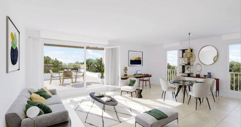 Achat / Vente appartement neuf Marseille 16 proche plage et gare de l'Estaque (13016) - Réf. 6228