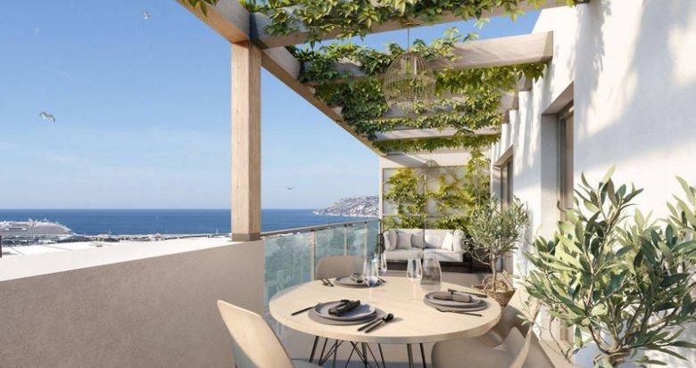Achat / Vente appartement neuf Marseille 16 sur les hauteurs de l'Estaque (13016) - Réf. 6264