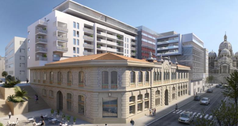 Achat / Vente appartement neuf Marseille 2 proche Cathédrale de la Major (13002) - Réf. 1392