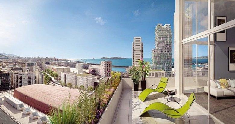 Achat / Vente appartement neuf Marseille 3 à 10 minutes du Vieux Port (13003) - Réf. 1618