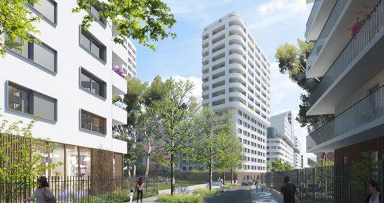 Achat / Vente appartement neuf Marseille 3 proche futur parc Bougainville (13003) - Réf. 981