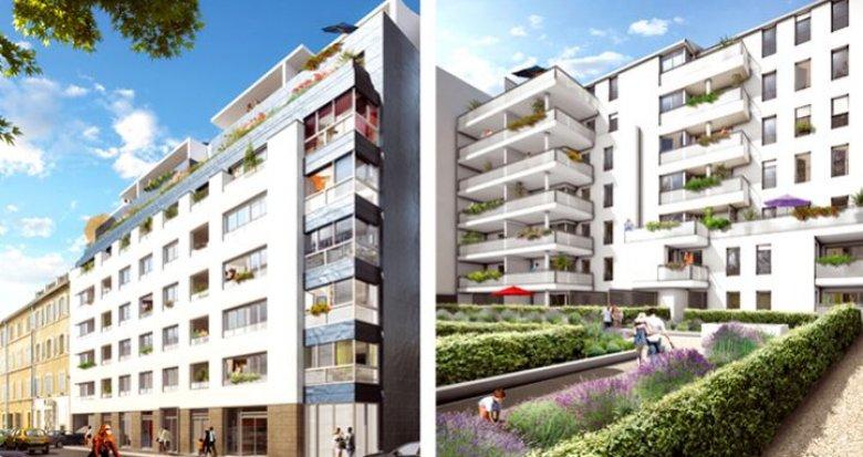Achat / Vente appartement neuf Marseille 5ème proche de la place Sebastopol (13005) - Réf. 623