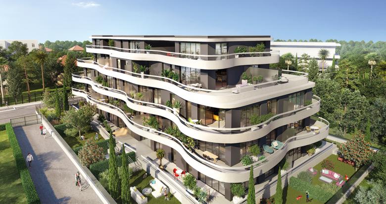 Achat / Vente appartement neuf Marseille 8 à deux pas du parc Borély (13008) - Réf. 1551
