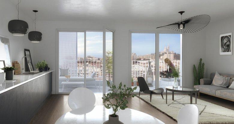 Achat / Vente appartement neuf Marseille 8 proche avenue du Prado (13008) - Réf. 2401