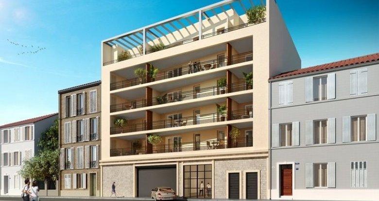 Achat / Vente appartement neuf Marseille 8 proche avenue du Prado (13008) - Réf. 1585