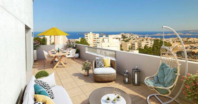 Achat / Vente appartement neuf Marseille 8 secteur Bonneveine (13008) - Réf. 2715