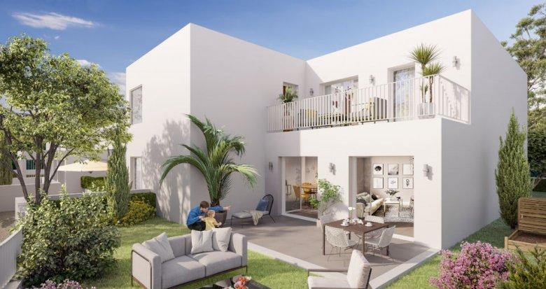 Achat / Vente appartement neuf Marseille 9 à deux pas du Parc de la Maison Blanche (13009) - Réf. 6205