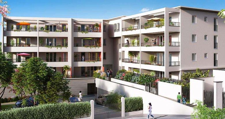 Achat / Vente appartement neuf Marseille 9 quartier Le Cabot (13009) - Réf. 1264