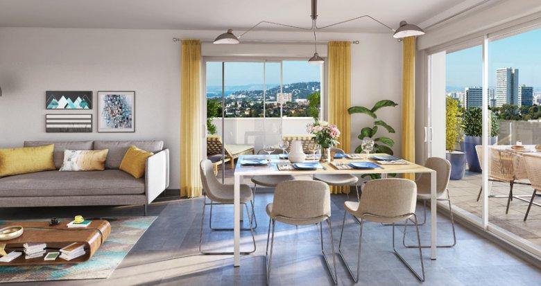 Achat / Vente appartement neuf Marseille 9  secteur Valmante (13009) - Réf. 2094